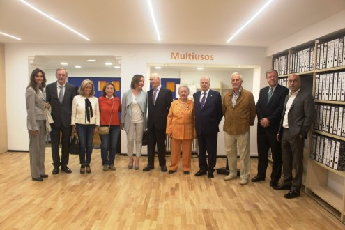 Imagen D. Javier Amoedo Conde: ¨Los valores de la Fundación Tutelar FECLEM tienen que estar presentes en nuestra sociedad¨