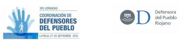 Imagen XXV Jornadas de Coordinación de Defensores del Pueblo - Logroño, Septiembre 2010